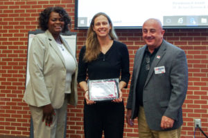 Cover photo for Robyn Stout Received the 2018 Award for Outstanding Subject Matter Program by an Individual