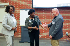 """Cover photo for Dr. Michelle Eley, Community and Economic Development Specialist, Received an Award for Her Exceptional Work Bringing """"Voices of Vance"""" Project to Vance County"""