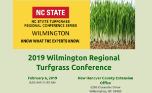 Cover photo for New Hanover / Wilmington Regional Turfgrass Conference